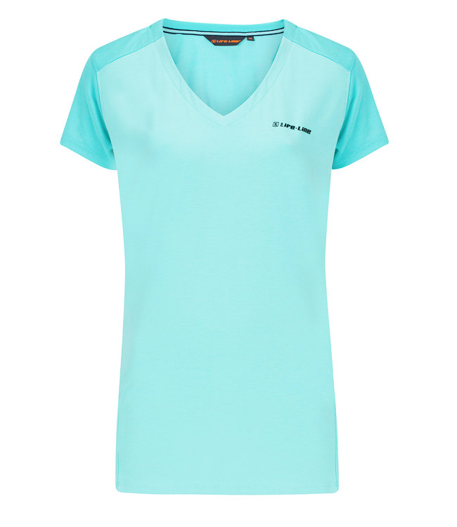 Life-Line Nicia Dames T-shirt - Blauw