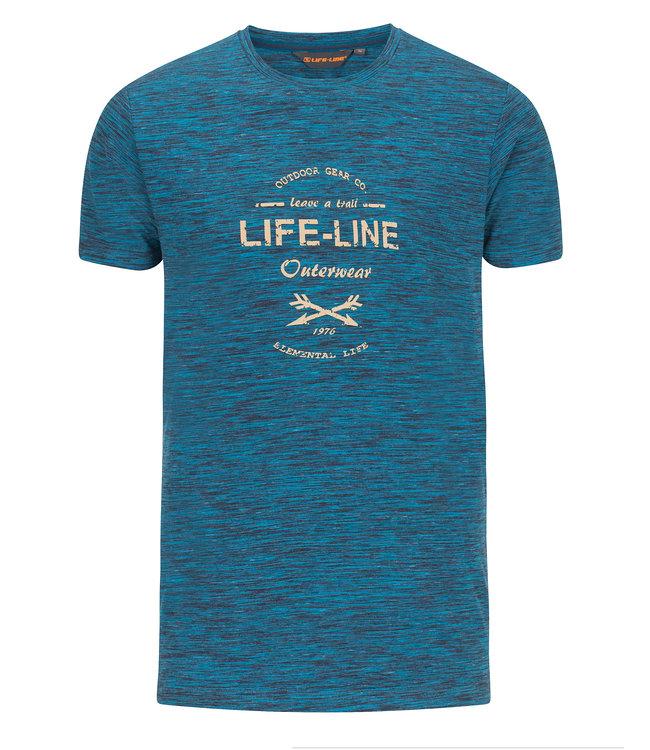 Life-Line Wyoming Heren T-shirt
