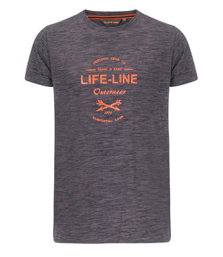 Life-Line Wyoming Heren T-shirt