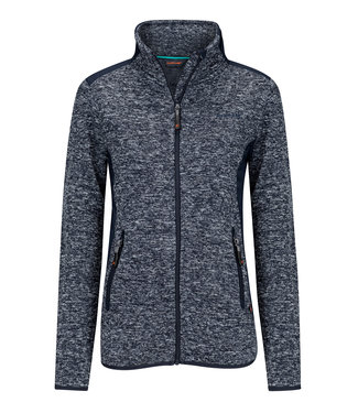 Life-Line Moab Ladies Fleece Jacket - Dark Blue