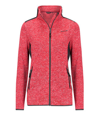 Life-Line Moab Ladies Fleece Jacket - Red