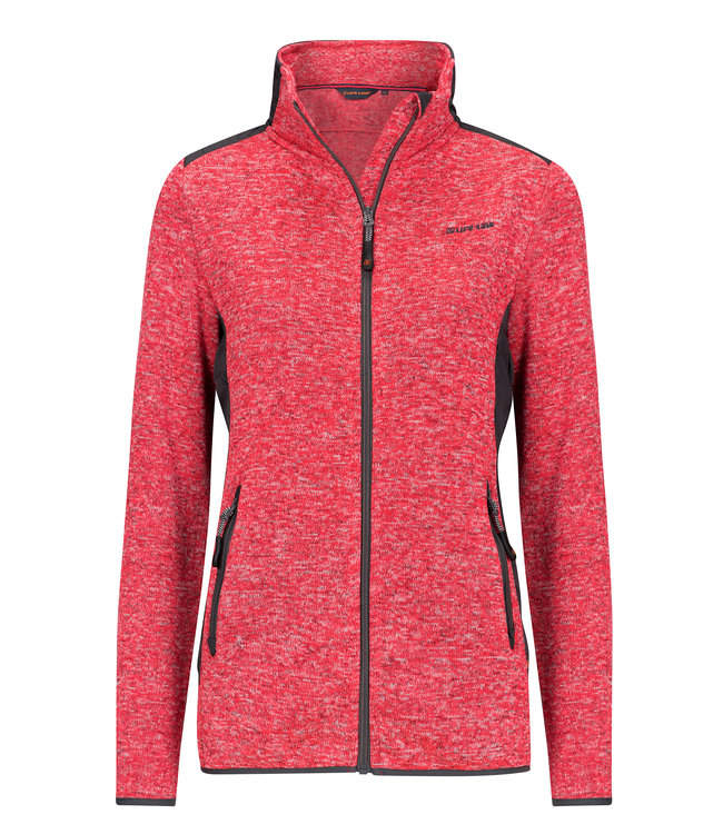 Life Line MOAB Dames Fleece in Rood Life Line