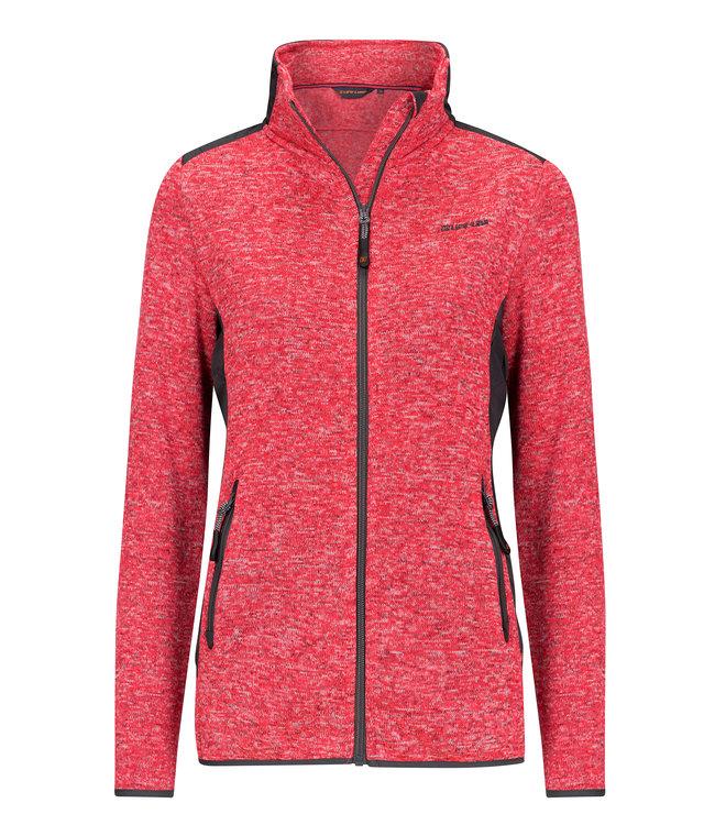 Life-Line Moab Ladies Fleece Jacket - Red