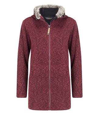 Life-Line Tauri Ladies Fleece Parka - Red