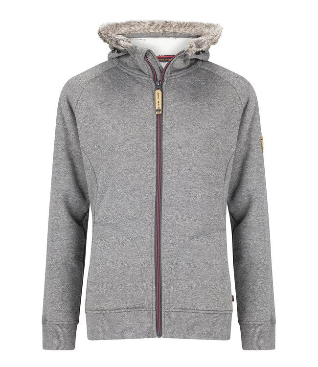 Life-Line Thida Ladies Sweat jacket - Grey