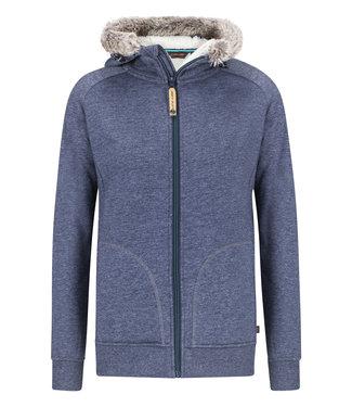 Life-Line Thida Ladies Sweat jacket - Blue