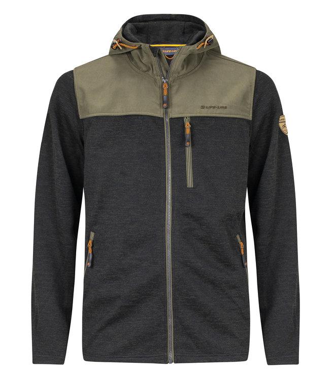 Life-Line Knuset Mens Fleece Jacket - Green