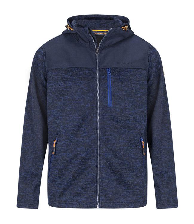 Life-Line Knuset Mens Fleece Jacket - Blue