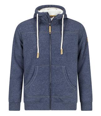 Life-Line Khido Herren Gefüttert Sweater - Dunkelblau