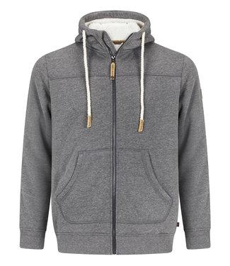 Life-Line Khido Heren Gevoerde Sweater - Grijs