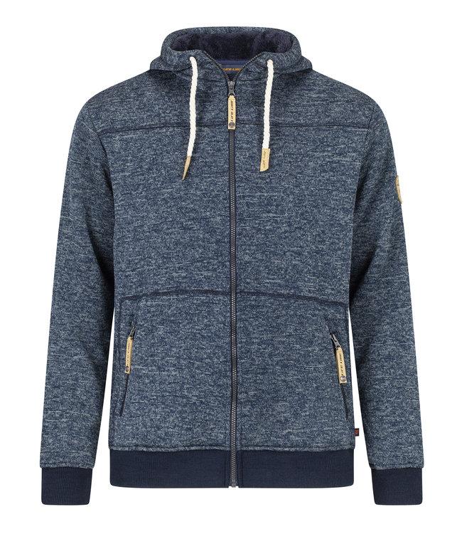 Life-Line Kumbati Mens Lined Fleece Jacket - Blue