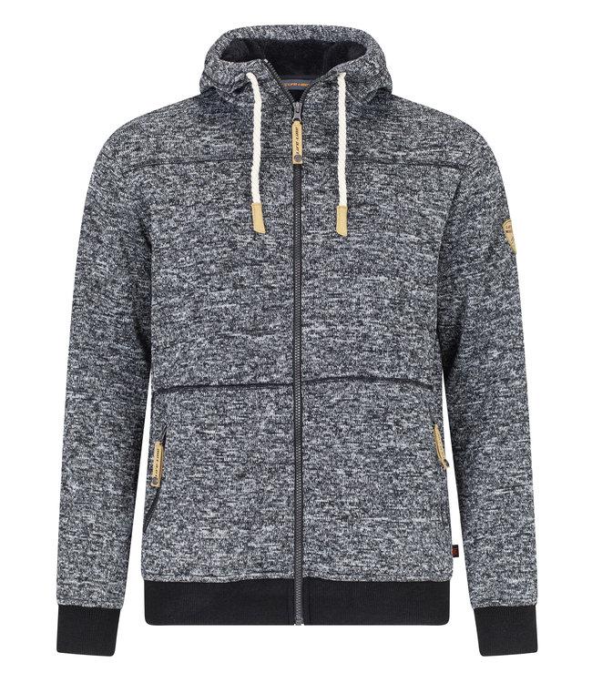 Life-Line Kumbati Mens Lined Fleece Jacket - Black