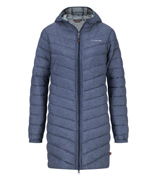 Life-Line Sveril Damen Fake Down Parka - Blau