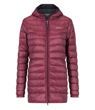 Life-Line Sveneti Ladies Fake Down Jacket - Red