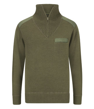 Life-Line Brooksville  Herren Sweater - Grün