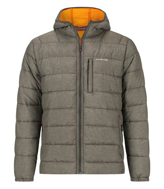 Life-Line Gudauri Mens Fake Down Jacket - Green