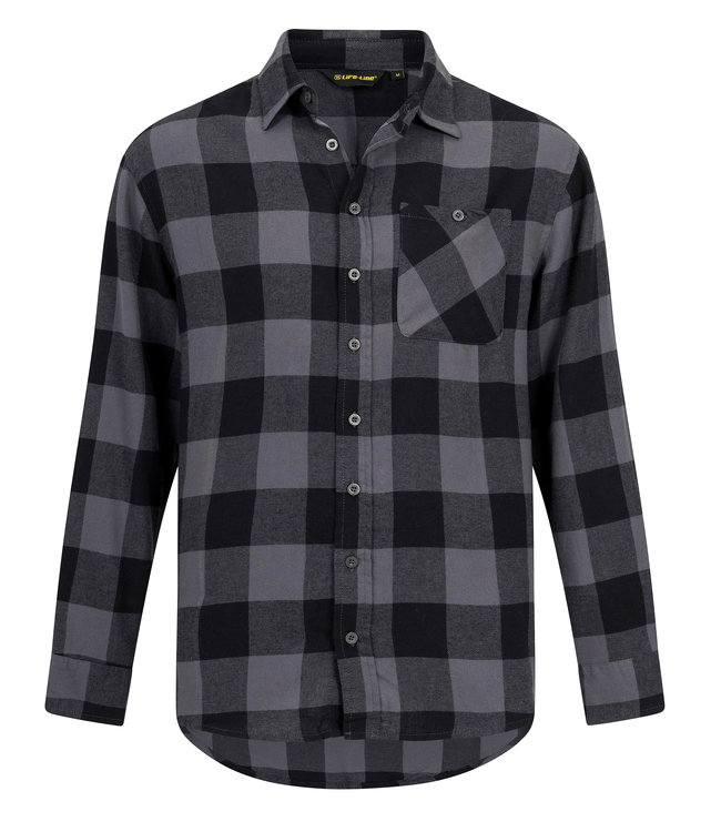Life-Line Harry Herren Longsleeve Shirt - Grau