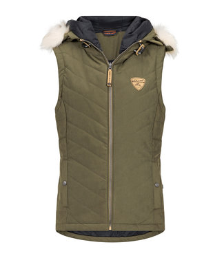 Life-Line Chargali Ladies Bodywarmer - Green
