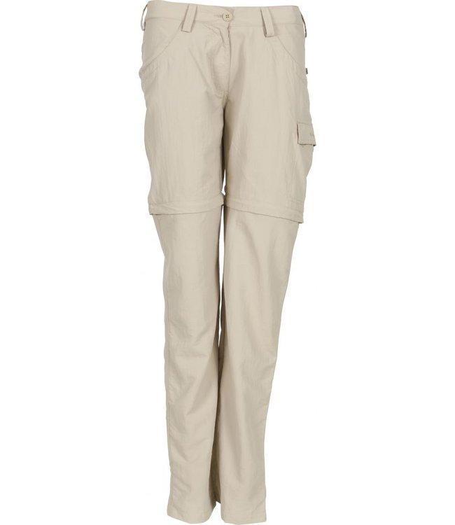 Life-Line Linna ladies Water-repellent zip-off trousers - Beige