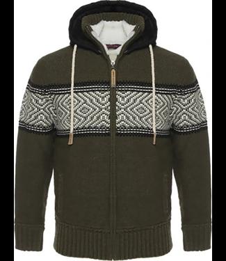 Life-Line Morris Herren Sweaterjacke - Grün