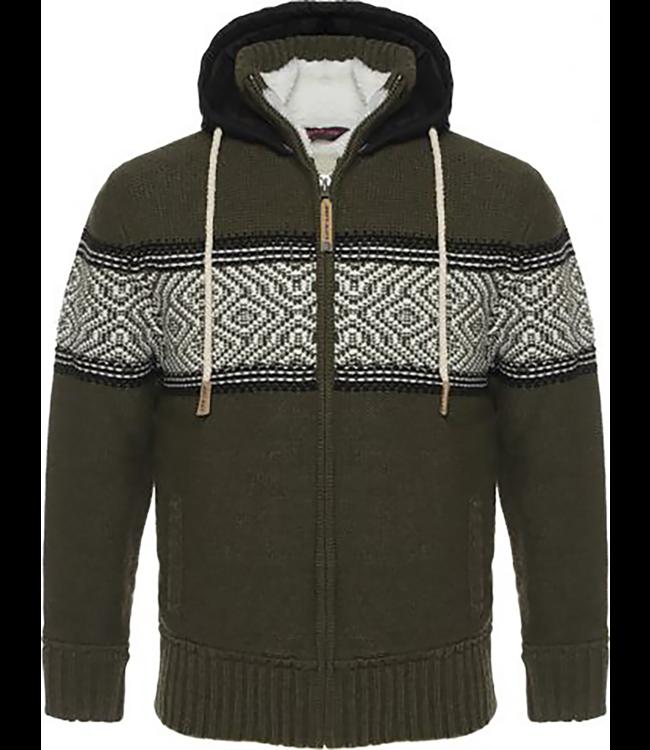 Life-Line Morris Heren Sweatervest - Groen