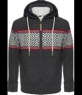 Life-Line Morris Herren Sweaterjacke - Grau