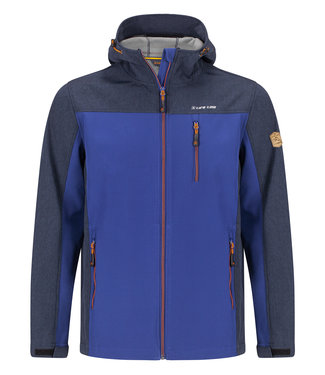 Life-Line Dartlo Mens Lined Softshell Jacket - Blue