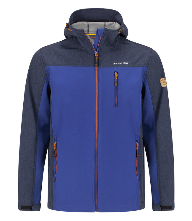 Life-Line Dartlo Mens Lined Softshell Jacket - Blue