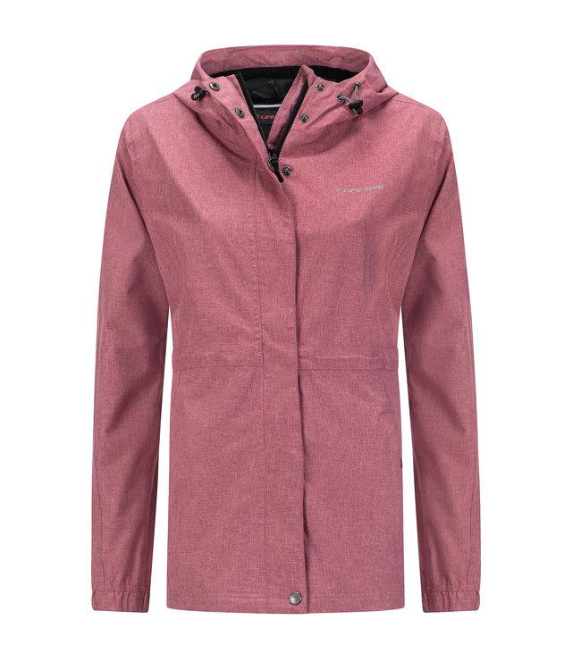 Life-Line Buxton Ladies Hardshell Jacket - Dark pink