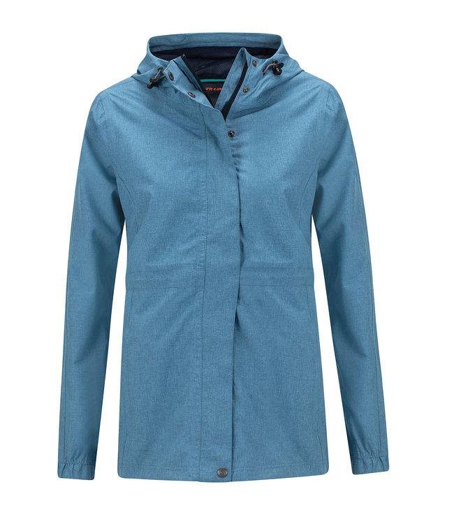 Life-Line Buxton Ladies Hardshell Jacket - Light blue
