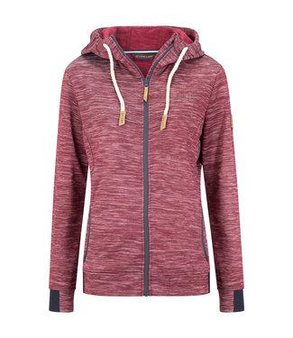 Life-Line Shildon ladies fleece vest - Dark Pink