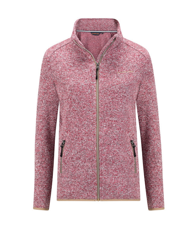 Life-Line Soham Ladies Fleece Vest - Pink