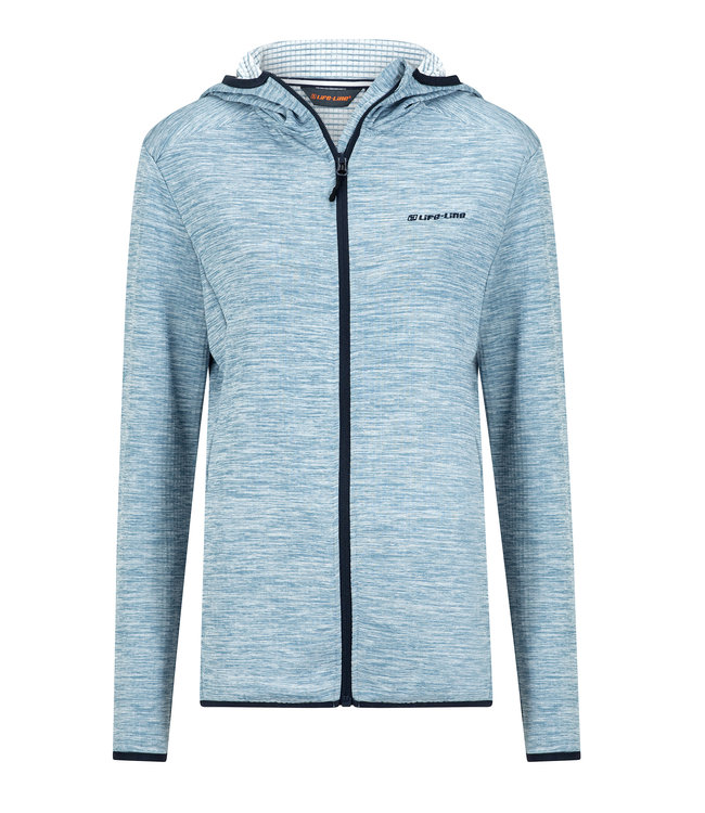 Life-Line Saffron Ladies Fleece Vest - Light blue