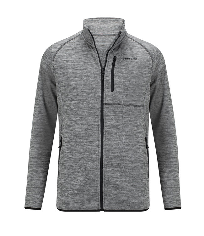 Life-Line Helston men's fleece vest - Grey