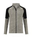 Life-Line Howden Men's fleece vest Black Melange