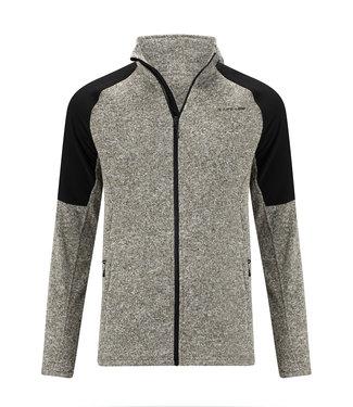 Life-Line Howden Men's fleece vest - Black gray
