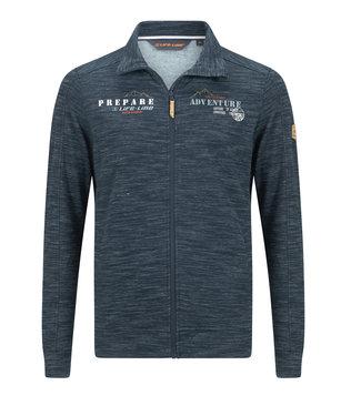 Life-Line Hythe Mens Sweat jacket - Navy