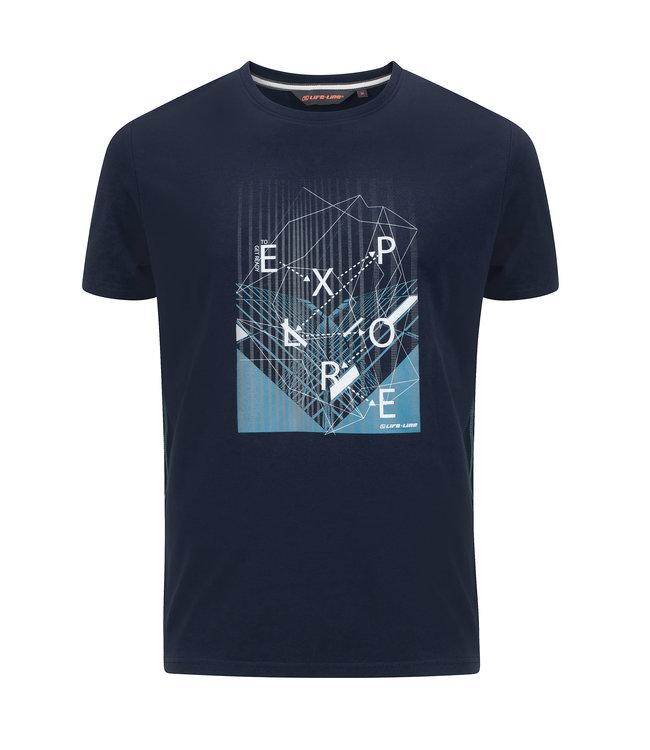 Life-Line Otley heren T-shirt korte mouw - Navy