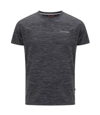 Life-Line Oakhem heren T-shirt korte mouw - Donkergrijs
