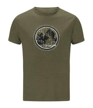 Life-Line Oundle heren T-shirt korte mouw - Groen