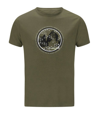 Life-Line Oundle Mens T-shirt Shortsleeve - Green