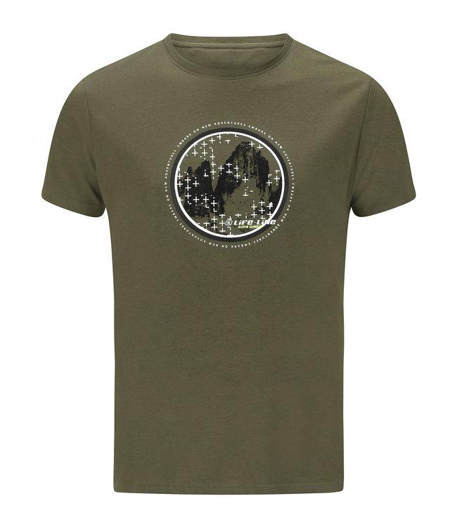 Life-Line Oundle Herren T-Shirt Kurzarm - Grün