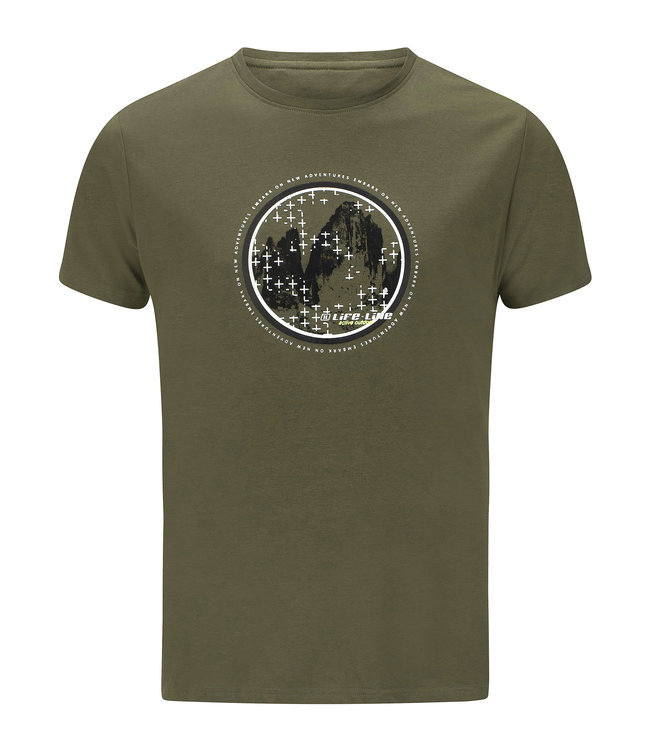 Life-Line Oundle Mens T-shirt Shortsleeve