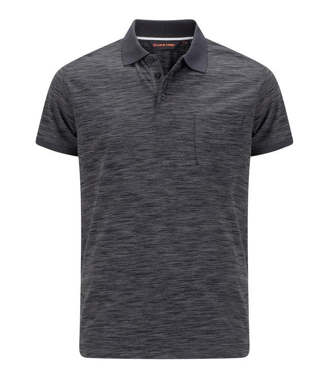 Life-Line Ollerton Herren Polo-Shirt - Dunkelgraue
