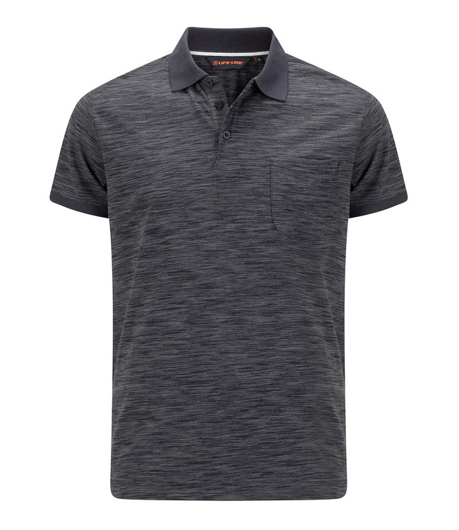 Life-Line Ollerton men's polo shirt - Dark Grey