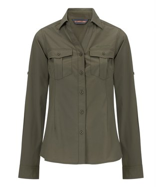 Life-Line Margate Ladies Shirt - Green