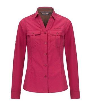 Life-Line Margate Damenhemd - Dunkelpink