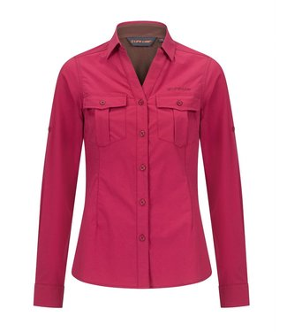 Life-Line Margate dames overhemd - Donkerroze