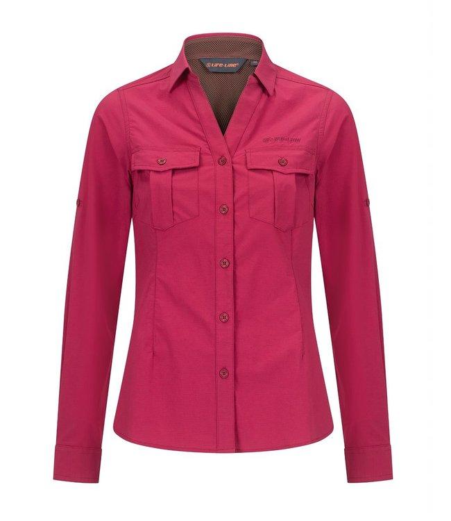 Life-Line Margate Ladies Shirt - Dark Pink