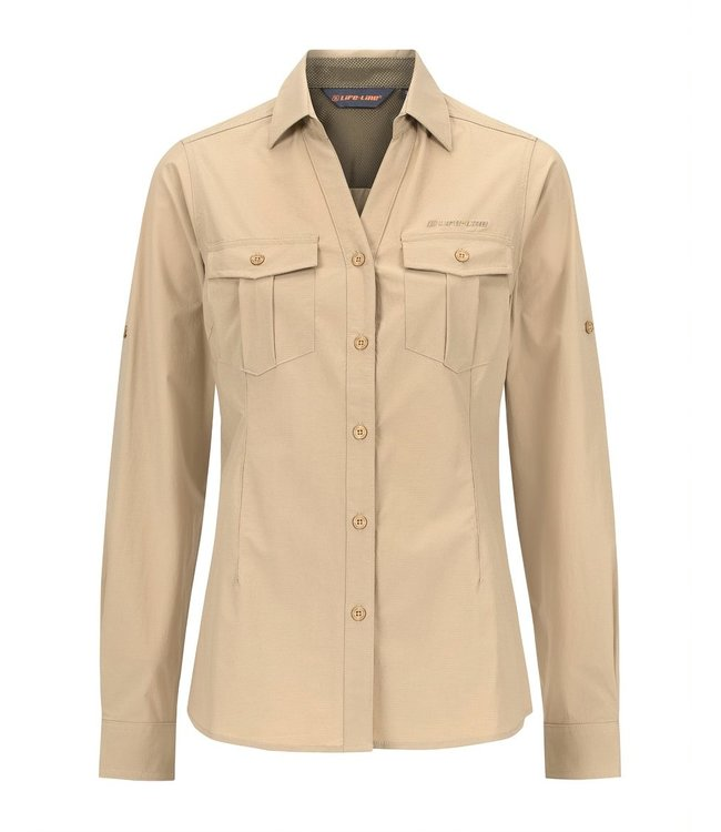 Life-Line Margate dames overhemd - Beige